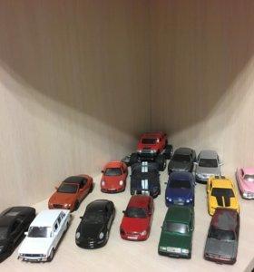 Машинки железные коллекционные