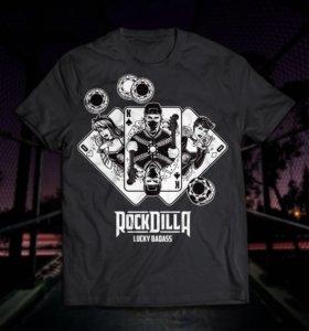 Футболка с принтом Rockdilla!