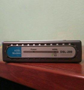 Модем ADSL- 200 D-Link