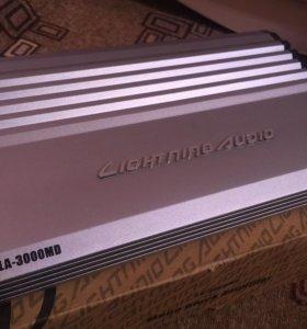 Топовый усилитель 3000Вт Lightning audio la-3000md