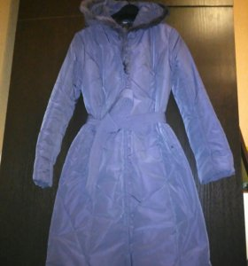 Пуховик пальто длинное Tom Farr