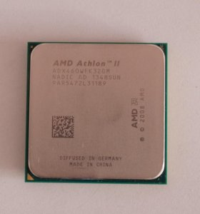 AMD Athlon ii x3 460 (с 4 ядром)