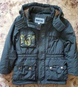 Осенняя куртка на мальчика р.104