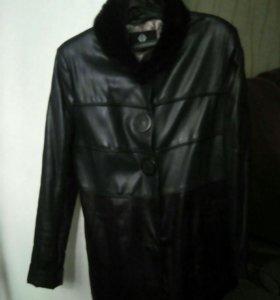 Куртка.кожа