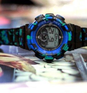 Часы Sport Army черно-синие