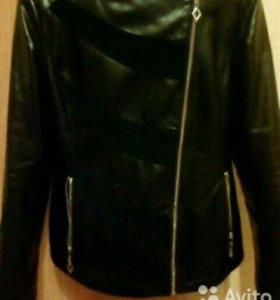 Куртка кожзам.