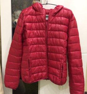 Осенняя утеплённая куртка