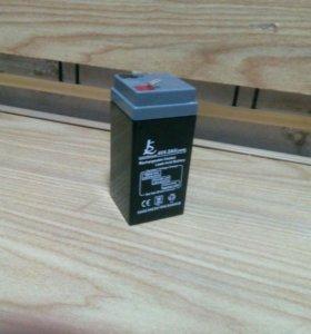 Аккумулятор для весов 4В