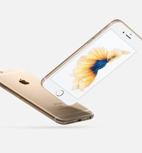 iPhone 6 s + Gold 64г