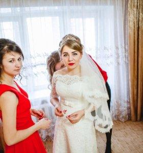 Свадебное платье р 44-46