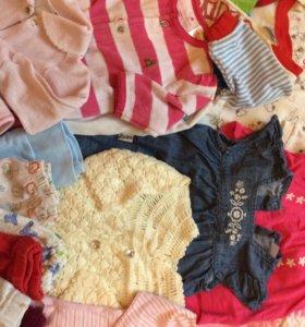 Одежда пакетом для новорождённой