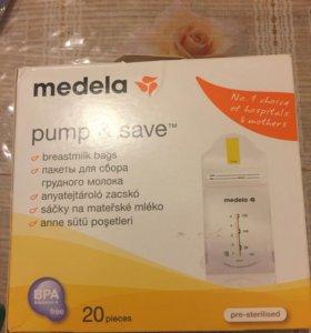 Пакеты для сбора грудного молока Medela 18 шт
