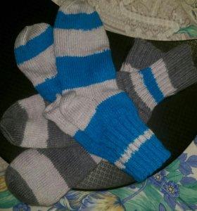 Носки мужские ручной вязки