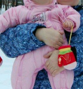 Зимний комбинезон-трансформер Baby Club