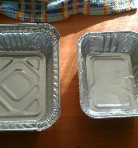 Посуда алюминиевая  для запекания (касалетки)