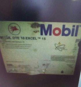 Гидравлическое масло Mobil dte 10 extel 15 (208л)