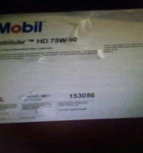 Трансмиссионное масло Mobilube HD 75W-90 (208л)