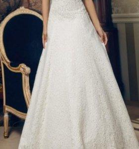 Свадебное платье счастливое))😁😉