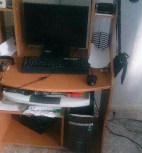 Продам игровой системник и широформатный монитор