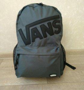 Рюкзак Vans серый