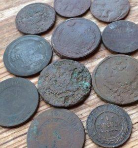 Царские усталые монеты