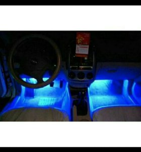 Подсветка в салон авто