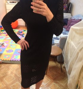Платье вязаное,шерсть