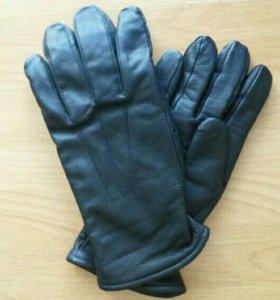 Перчатки мужские кожаные р.24
