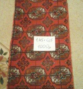 Туркменские шерстянные ковры ручной работы