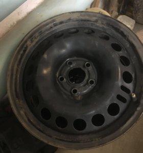 Штампованные диски от Chevrolet Cruze