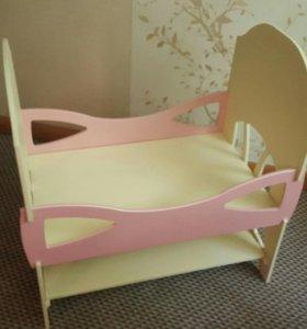 Кроватка для куклы Реборн.