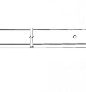 Балка двутавровая 14 б/у L=4.6м