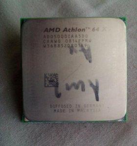 Двух ядерный процессор AMD Athlon 64 x 2