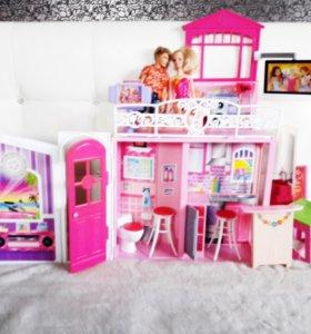 Дом Barbie Барби раскладной