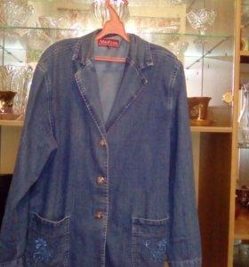 Пиджак джинсовый стрейч 5L