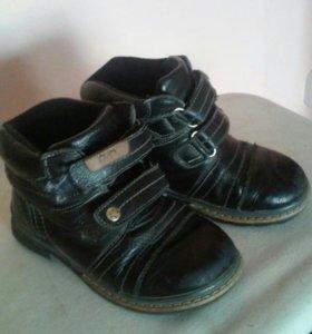 Две пары обуви, д/с и зима, кож.