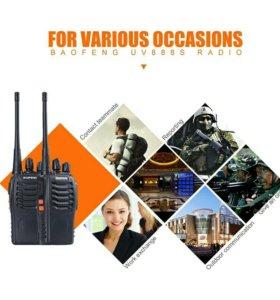 Комплект новых радиостанций baofeng bf-888s