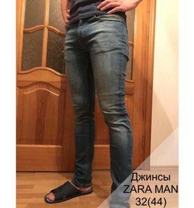 ZARA MAN джинсы мужские 32(44)