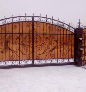 Ворота, навесы, заборы, металлоконструкции