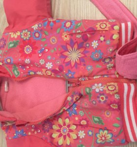 Детский комбинезон с курточкой осенний 2-3 года