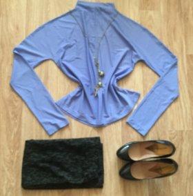 Одежда( водолазка, брюки, туфли, юбка )
