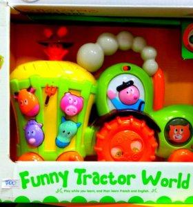 музыкальный трактор