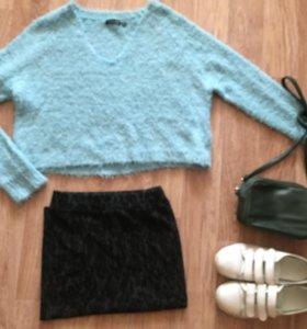 Одежда ( джемпер, юбка)