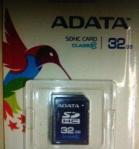 Карта памяти SD 32GB SDHC (32 гб)