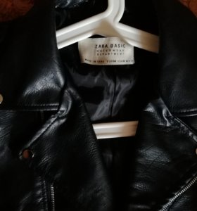 Кожаная куртка (pu)