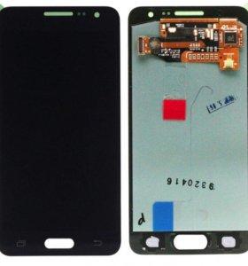 Модуль Samsung A3 SM-A300, orig черный