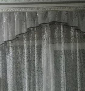 штора и ламбрекен