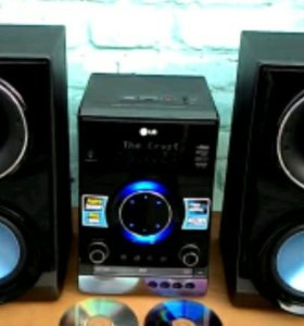 Музыкальный dvd караоке центр LG RBD154k