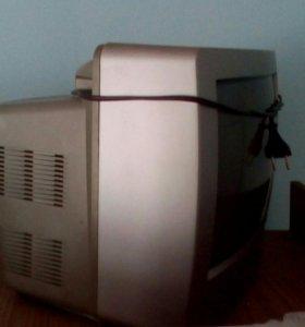Телевизор цветной с пультом