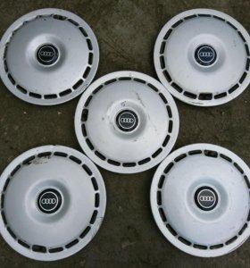 Оригинальные колпаки AUDI R15.